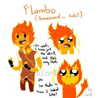Kinda Humanized Flambo by Tirameisu