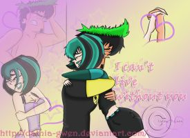 DxG_I can't live without you by Dalhia-Gwen