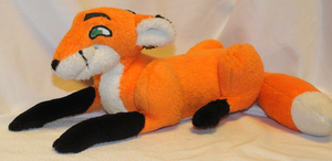 Sly Fox Plushie by AlexGoneLoco