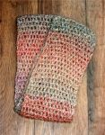 multi pastel colored scarf by LilithsSmile