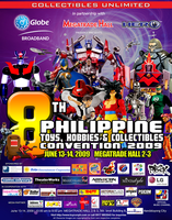 8th Philippine Toy Con poster by popazrael