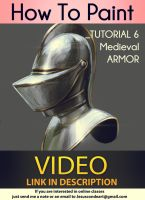 How To Paint_ MEDIEVAL ARMOR _ TUTORIAL by Jesus C by JesusAConde