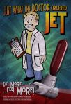 Vault Boy - Jet by MarkuzR