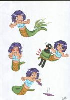 Monster Girls Lamia Attacks by Saiyuki-Maniac