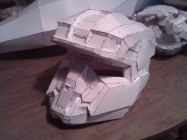 Halo Reach EOD Helmet by ZombieGrimm