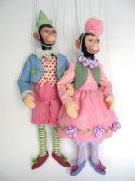 Monkey Marionettes by FantasticToys