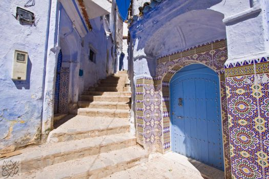 Chefchaouen:Tiles by Mgsblade