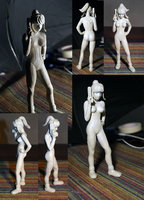 Samus figure Finished by vrlovecats