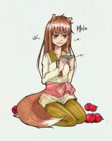 Holo fanart1 by KingPolicy