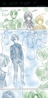AU Sketch Comic _Eren x Levi by Yuri-chan24