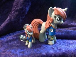 Custom Littlepip from Fallout: Equestria by Nightwings-81