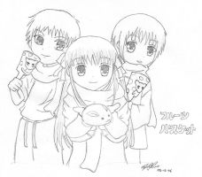 furuba- fruits basket by Lil-sw3etazn
