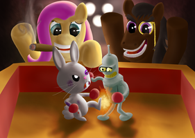 Pony Pet Fight Club by Shveyk