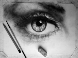 In progress.. Eye (Drawing) [4] by DesignerMF