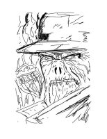 Sketch Boogie #9 The Dead Man by AndyTurnbull