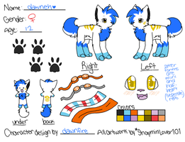 .:New Dawnfire Reference:. by ShayminLover101