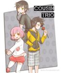 TM: Cousin Trio by Nerah-chan