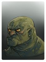 Orc head by fifoux