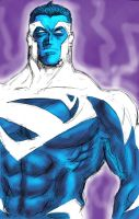 Superman Blue by lucio7lopez
