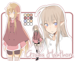 Character sheet - Azalea by azamono