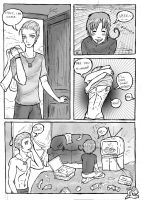 Hetalia Doujinshi - Clean it up! page~1 by patty110692