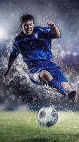 Football Wallpaper for iphone 5/5s by PimpYourScreen