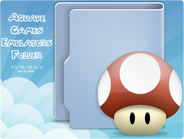 Aquave Games Emulators Folder by ToffeeNut