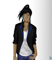 Korra - Semi Formal Attire (retouched) by ShoCulit