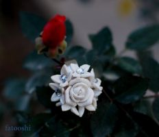 white flower ring by fatooshi