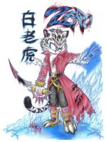 I'm Zero the White tiger by Zero-White-tiger