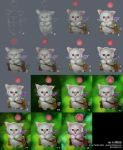 Making of Moogle by randis