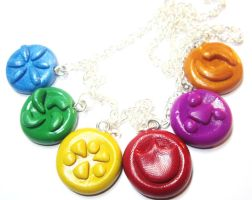 LOZ: OOT Sage Seals Necklace by MilkCannon