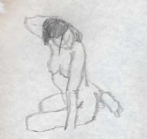 Life Drawing 1-2-08 no. 4 by SyntheticFlame