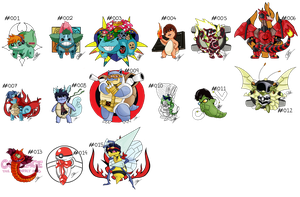 Pokemon Crossover's! (In Progress)