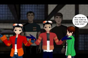 generator rex redo by ultimate44