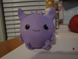 Gengar chubby by Shortcake-Middy