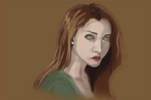 September Portrait Study WIP by TheHerdman