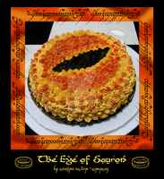 Cake: The Eye of Sauron by simonsaz3