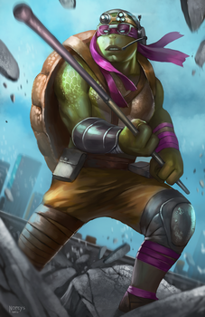 Donatello by NOPEYS