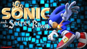 Sonic and the Secret Rings Wallpaper - Sonic by Knuxy7789