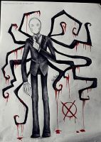 Slenderman by Nasuki100