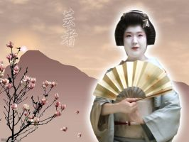 Geisha by Lord-Iluvatar