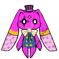 Circus monster pet doll Adoptable closed by AS-Adoptables
