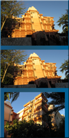 Mexican Pavilion front views by WDWParksGal-Stock