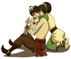 Toph Prefers Hair by beanaroony