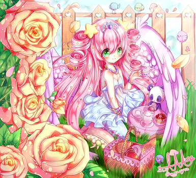 Contest: Rosetea +* by LumilYuu