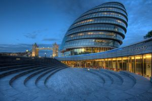 London City Hall by beckersbert