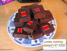 Domo Brownies by AkitaUchihaElric777