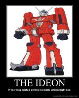Space Runaway Ideon Motivational Poster by slyboyseth