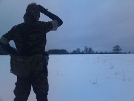 Grr.. i missed the snow cammo. by SquallWolfheart